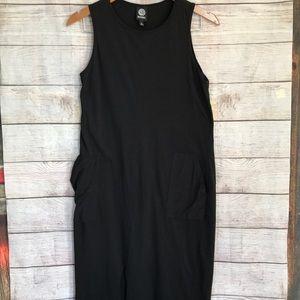 Bobeau Women's Sleeveless Black Dress
